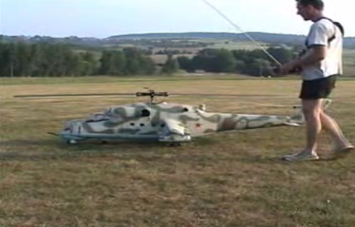World's Largest R/C Helicopter