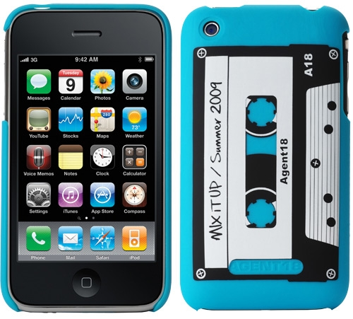 mixtape iphone case Mixtape iPhone Case is Retro Cool