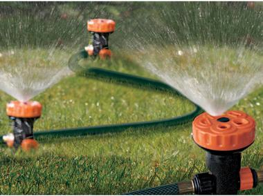 Multi-Head Portable Above Ground Sprinkler