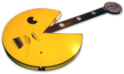 Pac-Man Guitar