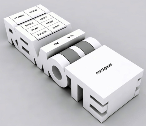 remote more than words Used as Read Electronics Concept