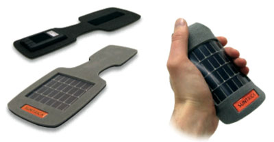 SolarStrap for Easy on the Go Solar Charging