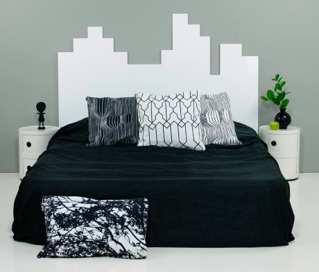 Super Mario Inspired Headboard