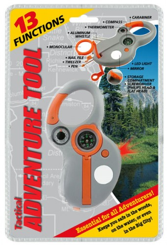 13 Function Tactical Adventure Tool