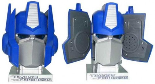 Robots in (Pretty Weak) Disguise: Optimus Prime Head USB Speakers
