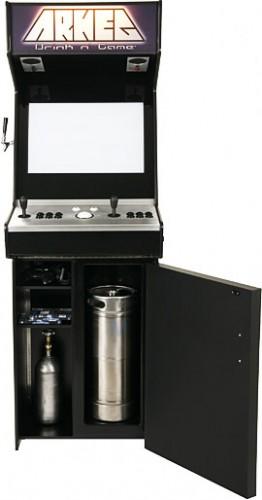 Arcade Game Cabinet Kegerator