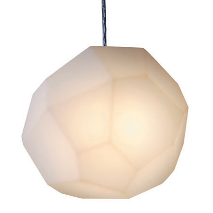 asteroid lamp hanging