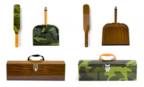 Camouflage Cleaning Supplies Give you the Perfect Excuse Not to Clean