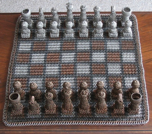 chainmail chess set