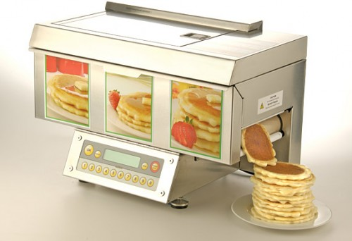 Automatic Pancake Machine Costs a Lot of Silver Dollars