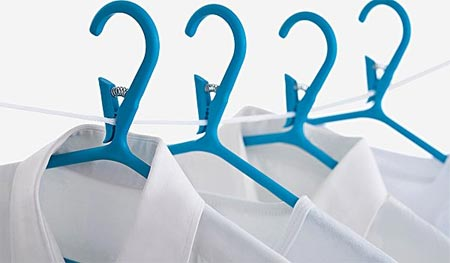 Hangers with Built in Clothespins