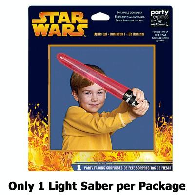 Star Wars Inflatable Light Up Lightsaber
