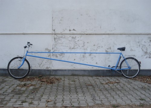 limo bike 500x359 Limo Bicycle is Impractically Awesome