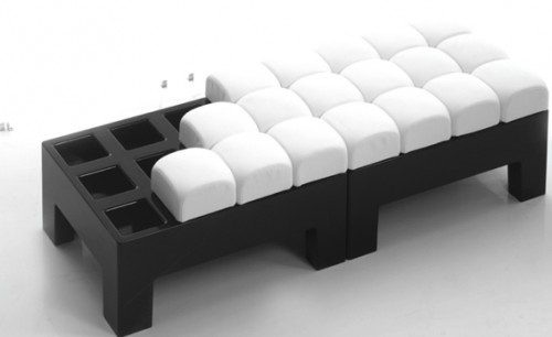modi design couch 500x306 Modi Sofa is Infinitely Configurable