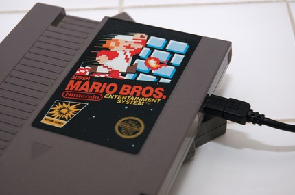 nes cartridge hard drive
