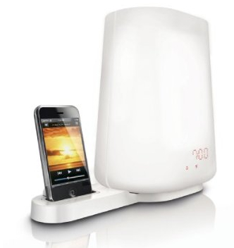 Philips HF3490 Wake-up Light iPod Dock Wakes You Up Slowly