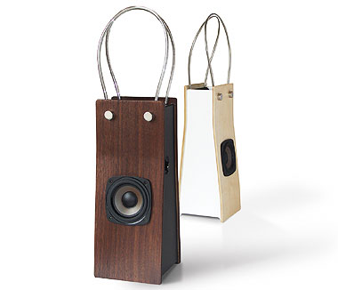 shopping bag speaker Pinboard