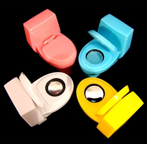 toilet bowl speakers 500x490 Pinboard