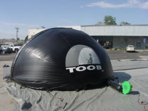 toob dome outside