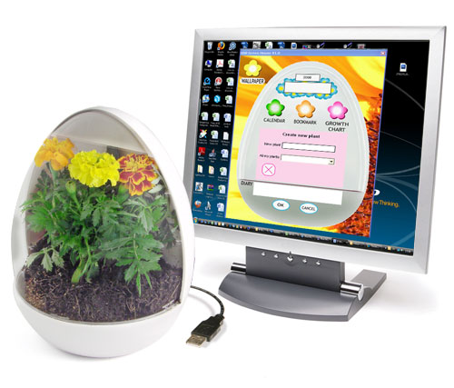 USB Greenhouse is the Greenest Computer Accessory Ever