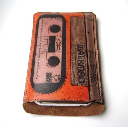Old School Walkman iPhone Case