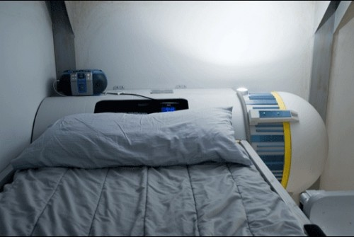 ywing fighter bed2 500x335 Another Awesome Star Wars Bed: Y Wing Fighter