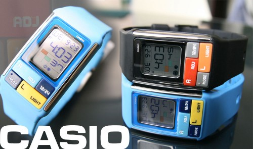 Casio Cubic Puzzle Watch is Tetrisesque
