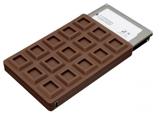 Chocolate Bar HDD Case