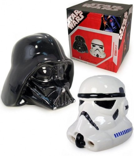 Star Wars Incense Burners: Darth Vader and Stormtrooper