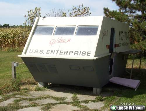Enterprise Galileo 2 Clubhouse in Some Lucky Kid's Backyard
