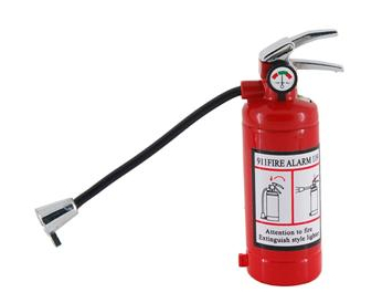 Fire Extinguisher Lighter Won't Put Out Any Fires