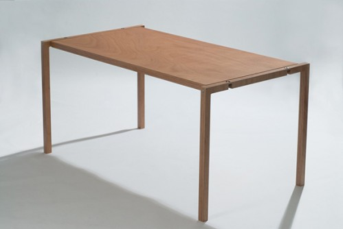 Minimalist Flat Folding Table