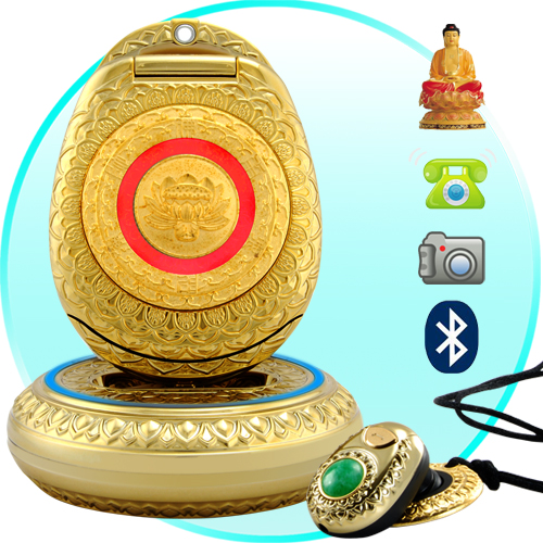 Golden Buddha Cellphone