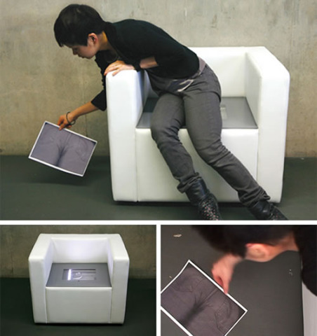 iBum, A Photocopying Chair
