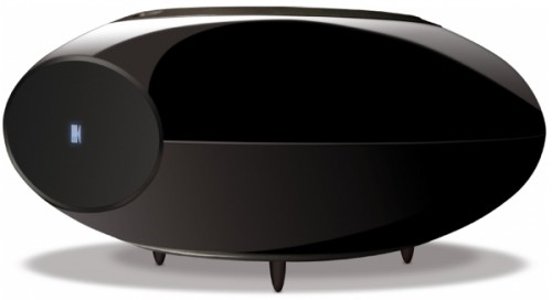 KEF's Uniquely Shaped Subwoofer
