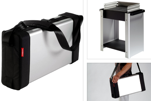 pizzoni ultimategrill Pizzoni Transformable Grill Lets You Take It With You