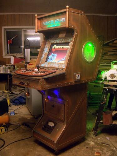 Steampunk MAME Arcade Cabinet
