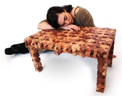 Tetris Table Looks More Like Jenga