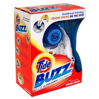 tide buzz ultrasonic stain remover Black and Decker Tide Buzz Ultrasonic Stain Remover