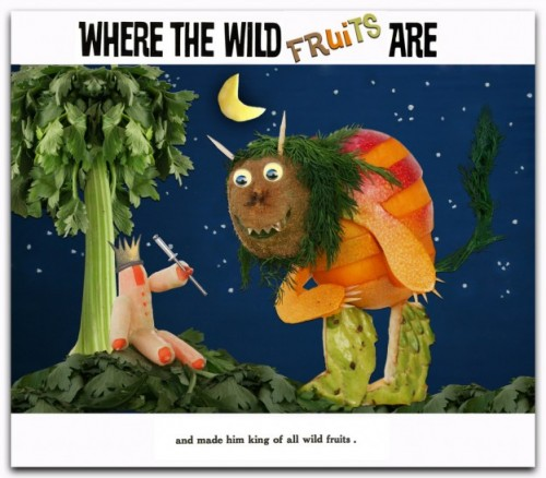 Where the Wild Things Are...Made of Fruit