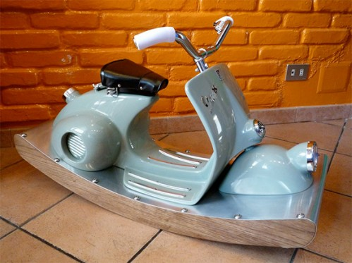 Vespa Rocking Horse is the Greatest Rocking Horse Ever
