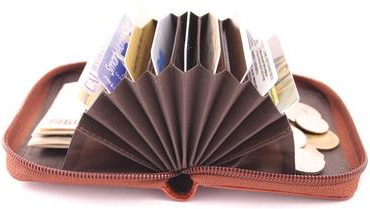 accordion wallet Pinboard