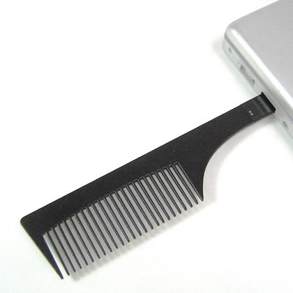 comb usb flash drive Look Good, Store Data with a Comb USB Flash Drive
