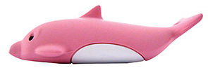 Pink Dolphin Bone USB Flash Drive Has a Large Dongle