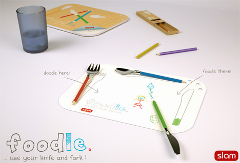 Foodle is a Fork You Can Doodle With