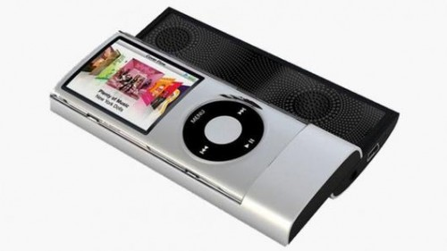 The Green Power Sliding iPod Speaker