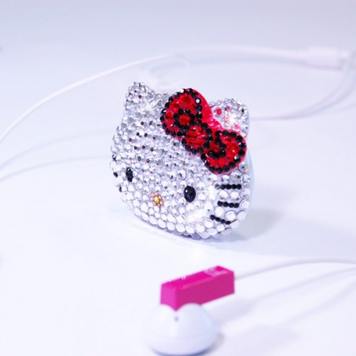 How to Make a Hello Kitty MP3 Player Worse: Cover it in Swarovksi Crystals
