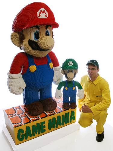 Buy a 6 Foot Tall Mario Made of LEGO (World's Largest!)