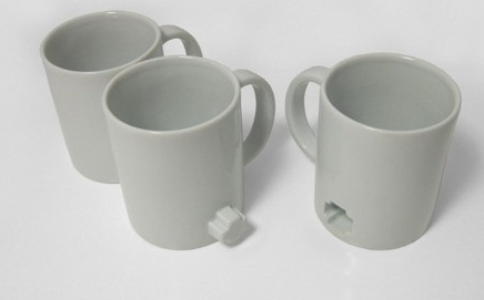 Link Mugs Hook Up for Easy Carrying