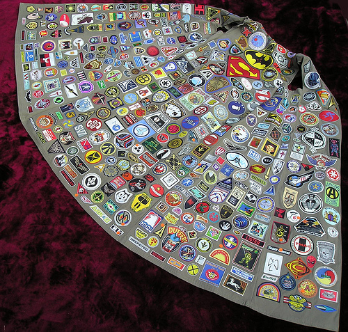 A Cloak of Many Colors…of Nerd Patches